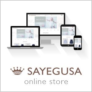 SAYEGUSA online store